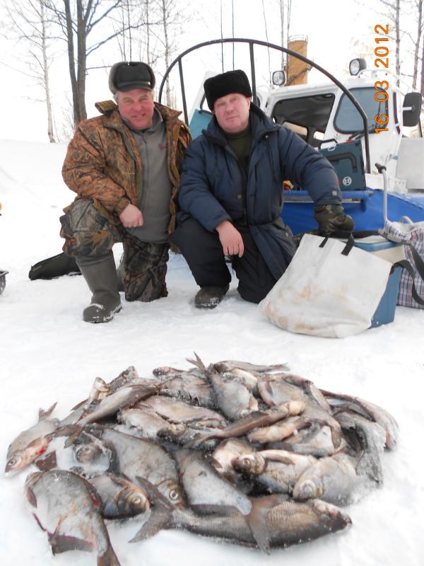 новости от рыбаков с рыбинки